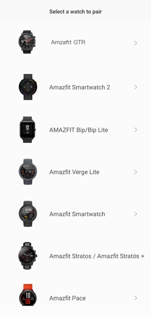 Amazfit Watch on the App Store