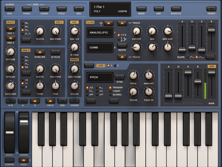 Sunrizer synth screenshot-1