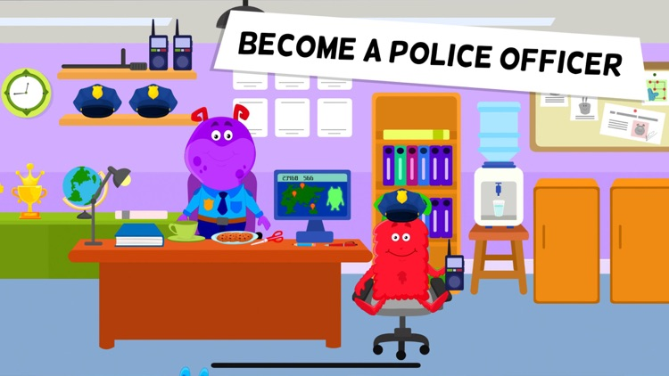 My Monster Town - Police Games