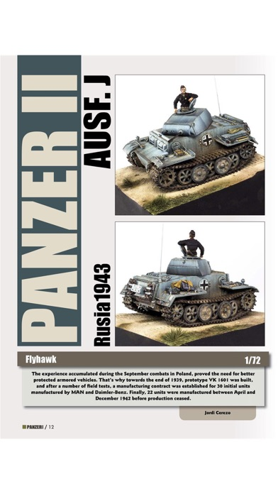 Panzer Aces Magazine Screenshot