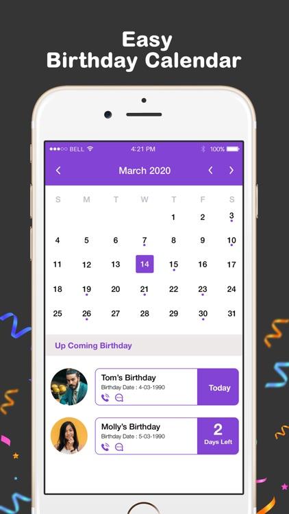 Birthday Reminder,Photo Editor screenshot-8