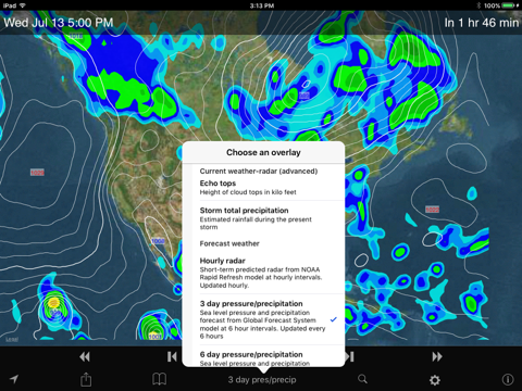 NOAA SuperRes Radar US - náhled