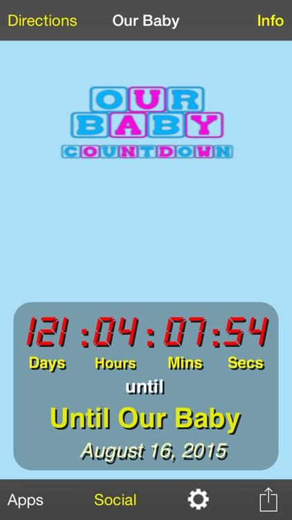 Our Baby Countdown screenshot-0