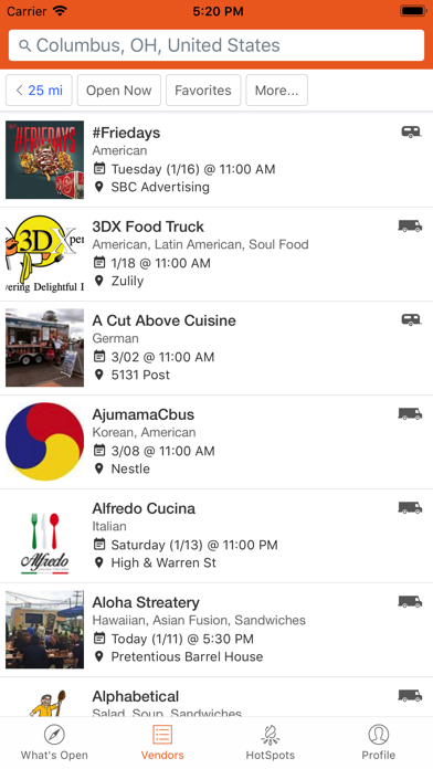 Download StreetFoodFinder for Android