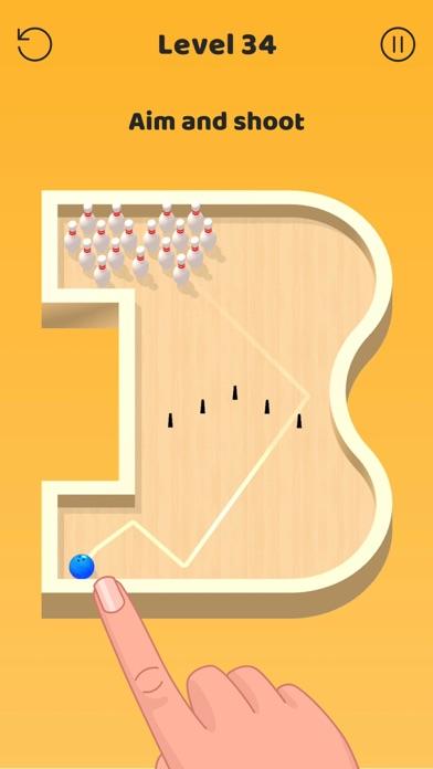 Mini Bowling! 3D screenshot 1