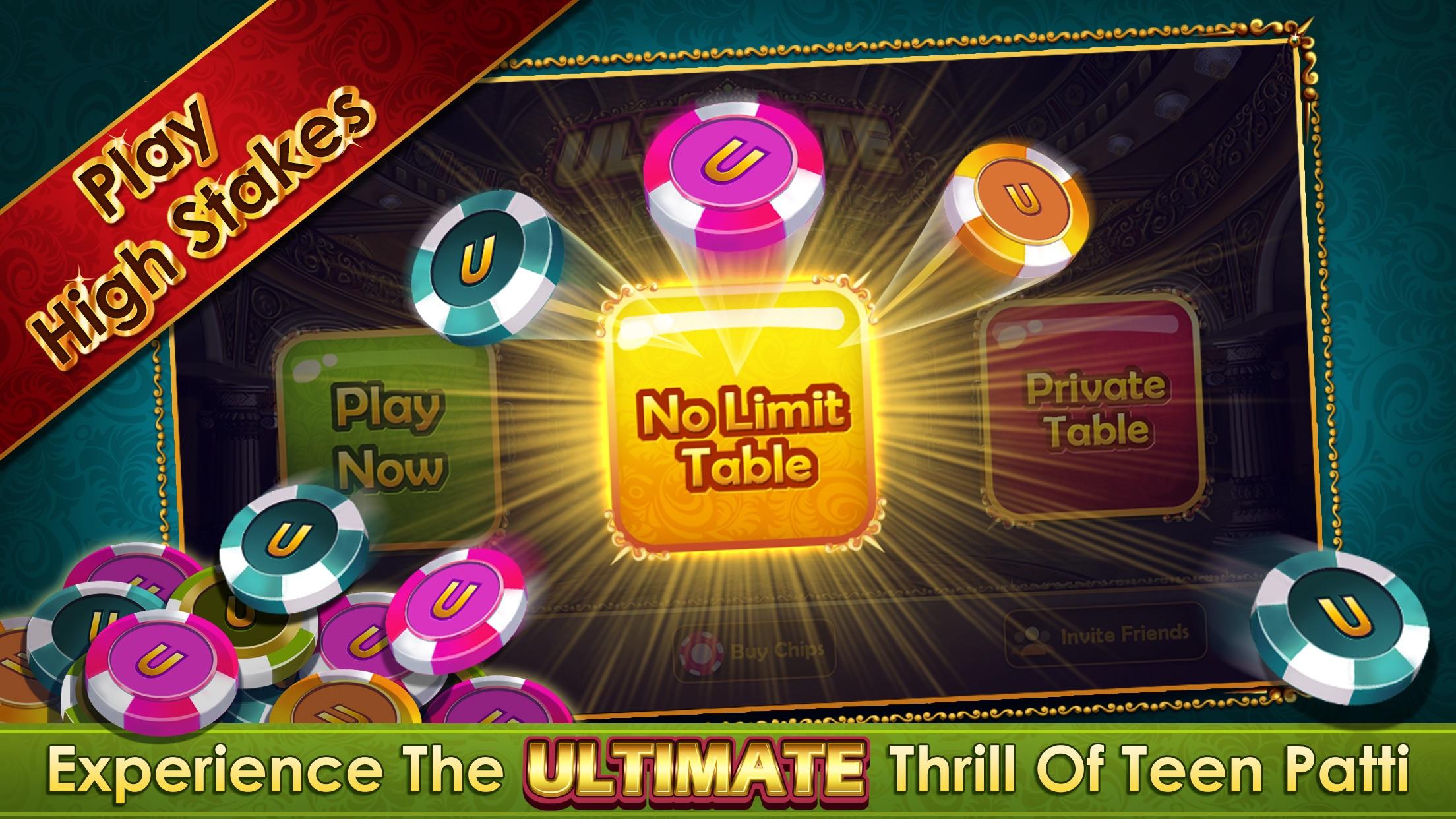 UTP - Ultimate Teen Patti Screenshot