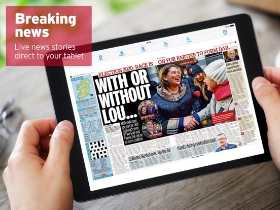 Irish Mirror Newspaper screenshot two