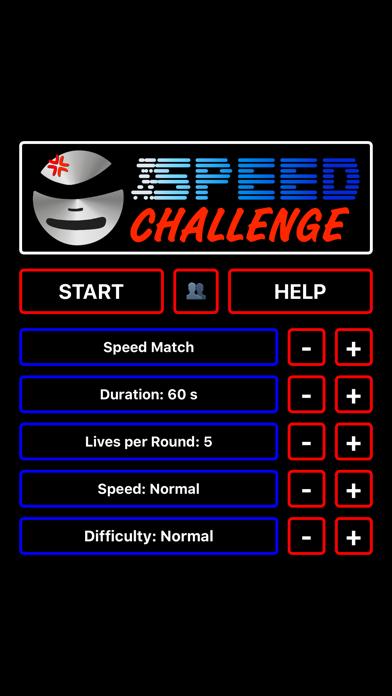 Speed Challenge screenshot one