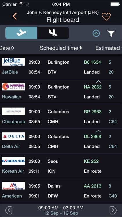 Airline Flight Status Tracking