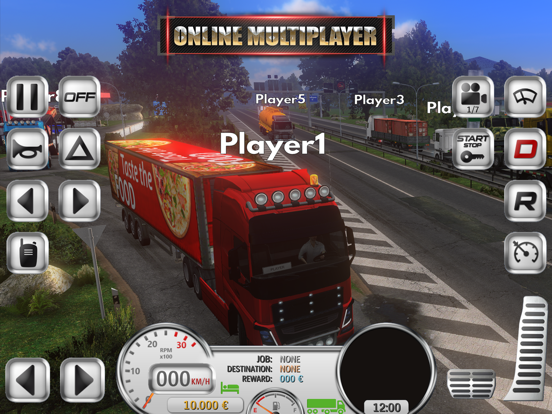 Euro Truck Evolution (Sim) iPad app afbeelding 4