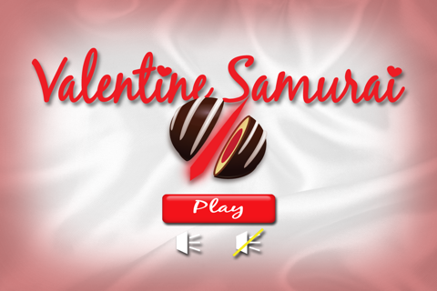 Valentine Samurai - náhled