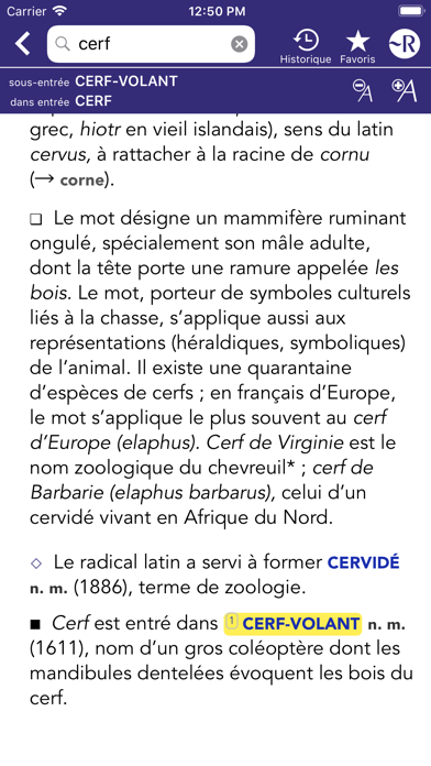 Dictionnaire Robert Historiqueのおすすめ画像5