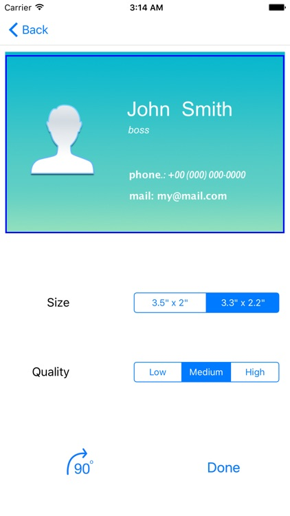Business Card Holder Simple screenshot-3