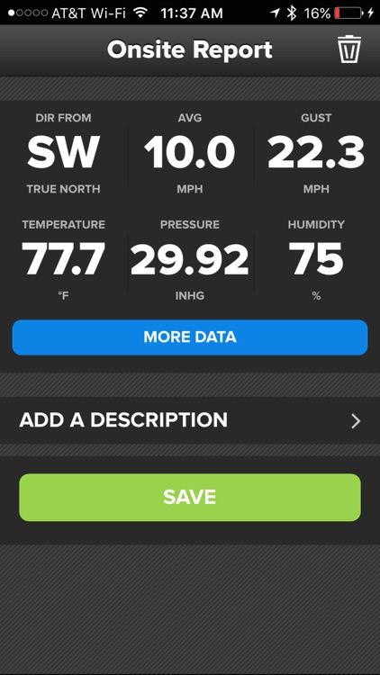 Wind & Weather Meter