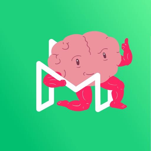 Migräne Sticker by M-sense