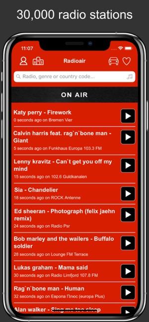 Radioair - Radio and Music on the App Store