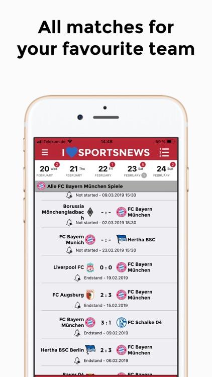 Sports News - FC Bayern ed. screenshot-5