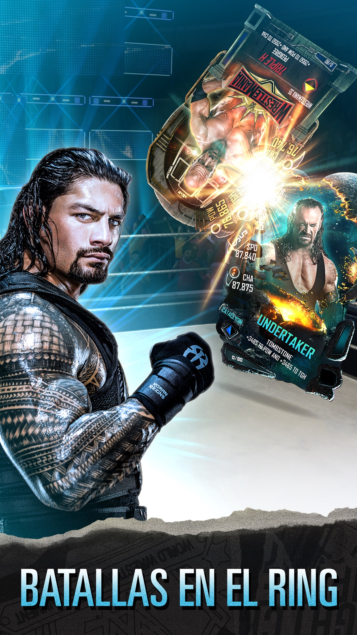WWE SuperCard Screenshot
