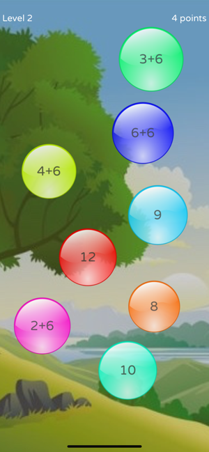 ‎PopMath Lite Screenshot