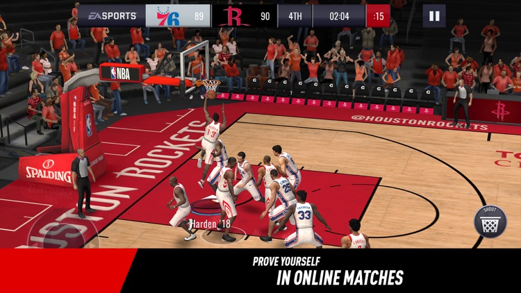 NBA LIVE Mobile Basketball screenshot-0