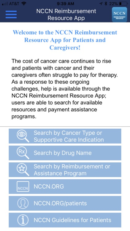 NCCN Reimbursement Resource