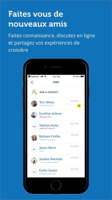 messages.download Costa Croisières software