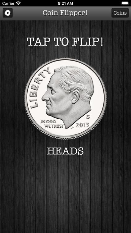 Flip a Coin App screenshot-5