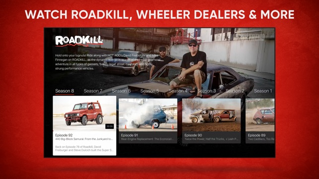 MotorTrend: Stream Car Shows on the App Store