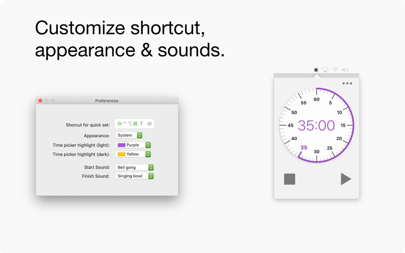 Dial - Timer for Mac
