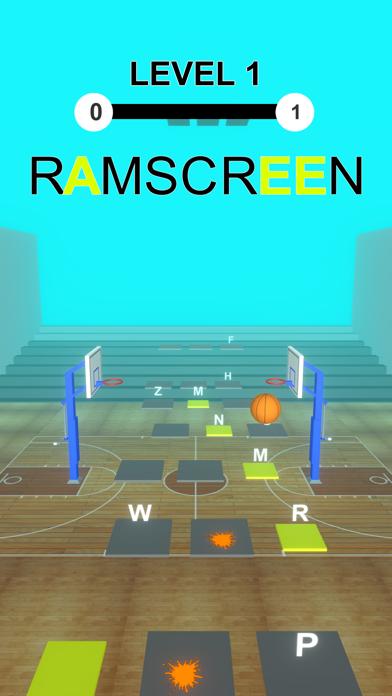 Basket Ball Hop: Word Dribble screenshot 2