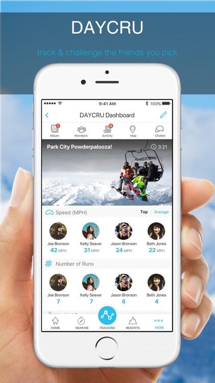SNOCRU Skiing & Snow Tracking screenshot-3