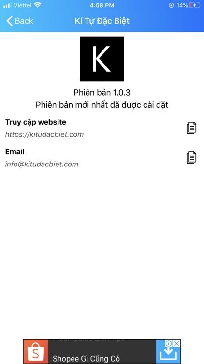 Kí Tự Đặc Biệt AnhNBT screenshot-3