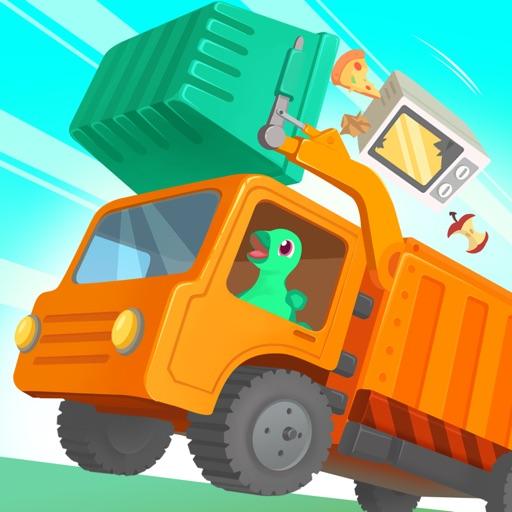 Динозавр мусоровоз