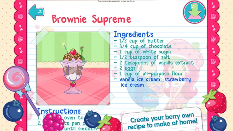 Strawberry Shortcake Bake Shop screenshot-4