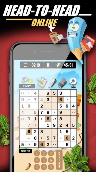 Sudoku Classic & Number Master screenshot 3