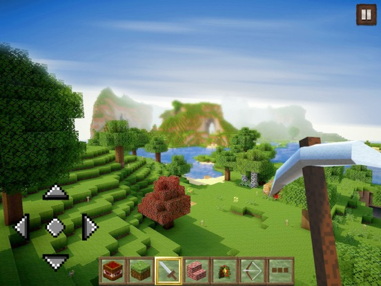 iPad Image of World Craft  Epic Dream Island