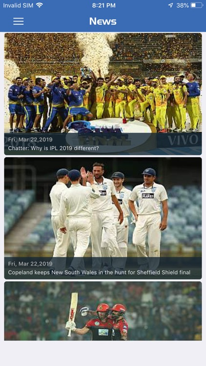 Cricyard - Live Score & News screenshot-4