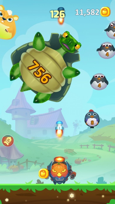 Screenshot for Funny Farm Blast in Hong Kong App Store