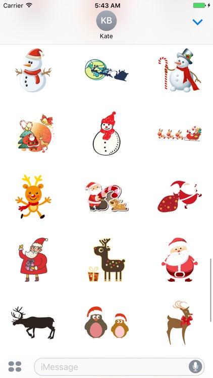 Happy Christmas Stickers screenshot-3