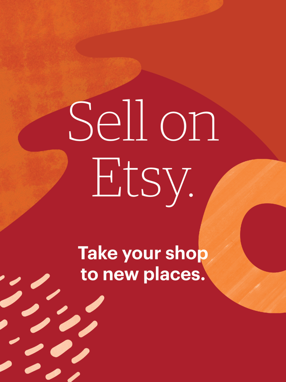 Sell on Etsy: Manage your shop screenshot