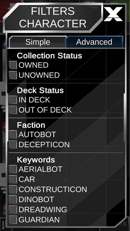 Transformers TCG Companion App screenshot-5