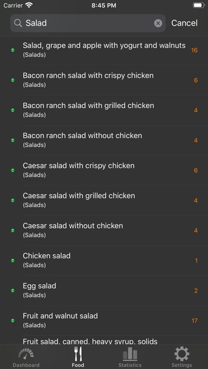 Low Carb (Kremlin) diet screenshot-3