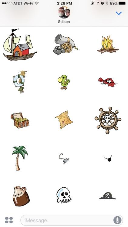 Scallywags Stickers screenshot-3