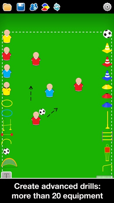 Screenshot for Coach Tactic Board: Soccer++ in Canada App Store