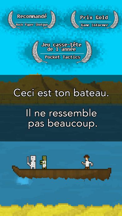 Screenshot #1 pour Tu Dois Construire Un Bateau