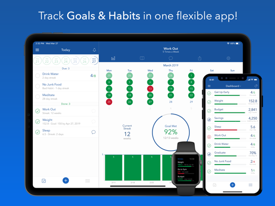 Strides: Habit Tracker & SMART Goals Tracker screenshot