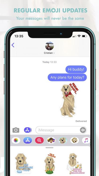 TuckerMoji - Tucker Budzyn Dog screenshot-6
