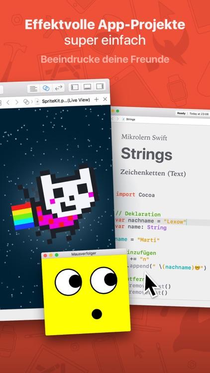 Mikrolern für Swift screenshot-4