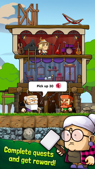 Dig Out!: Gold Miner Adventure screenshot 6