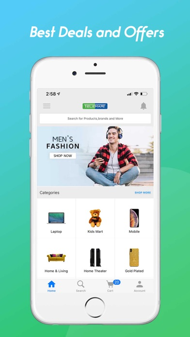 messages.download Telemart Online Shopping software